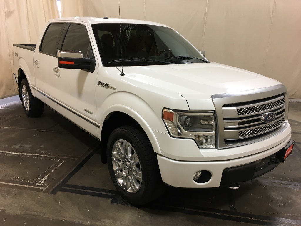 2014 F150 Platinum >> Pre Owned 2014 Ford F 150 Platinum 4wd 4d Supercrew