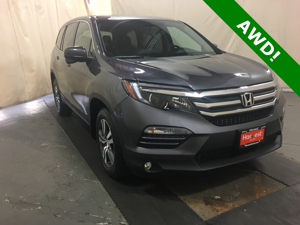 Pre Owned 2018 Honda Pilot Ex L 4d Sport Utility In Yakima 5304h Online Store 2009 Crv Tailgate Parts
