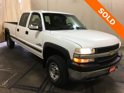 Pre-Owned 2001 Chevrolet Silverado 2500HD LS