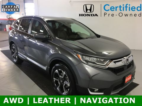 Certified Pre-Owned 2019 Honda CR-V Touring AWD 4D Sport Utility